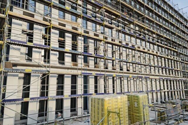 Budowa Sądu Rejonowego w Częstochowie